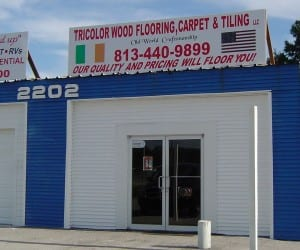 Tricolor Flooring Showroom